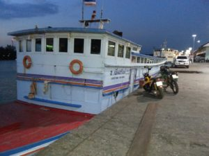Surat Thani to Koh Samui Night Boat
