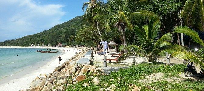 Chaloklum Beach in Koh Phangan