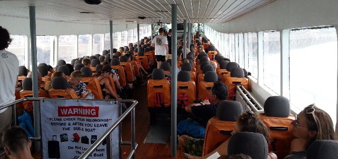 Seating in the Songserm Ferry