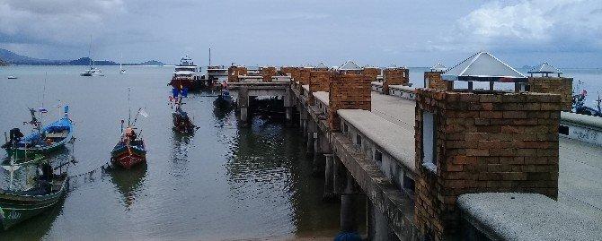 Bangrak Pier in Koh Samui