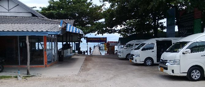 Car park at Big Buddha Pier