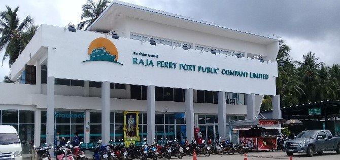 Koh Samui Raja Ferry terminal building