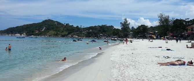 Haad Rin beach in Koh Phangan