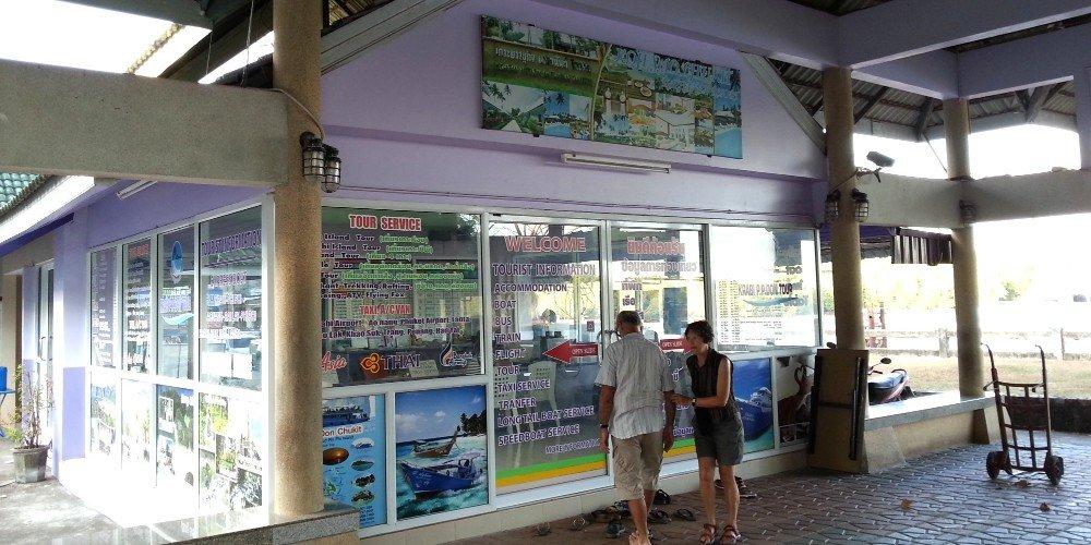 Booking office at Kong Ka Pier