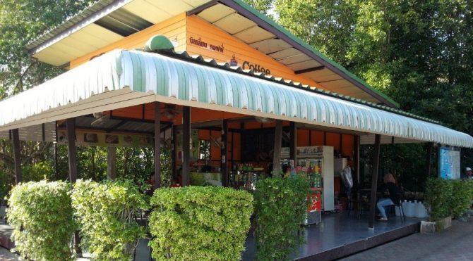 Coffee shop at Klong Jilad Pier