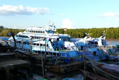 Kong Ka Pier in Krabi
