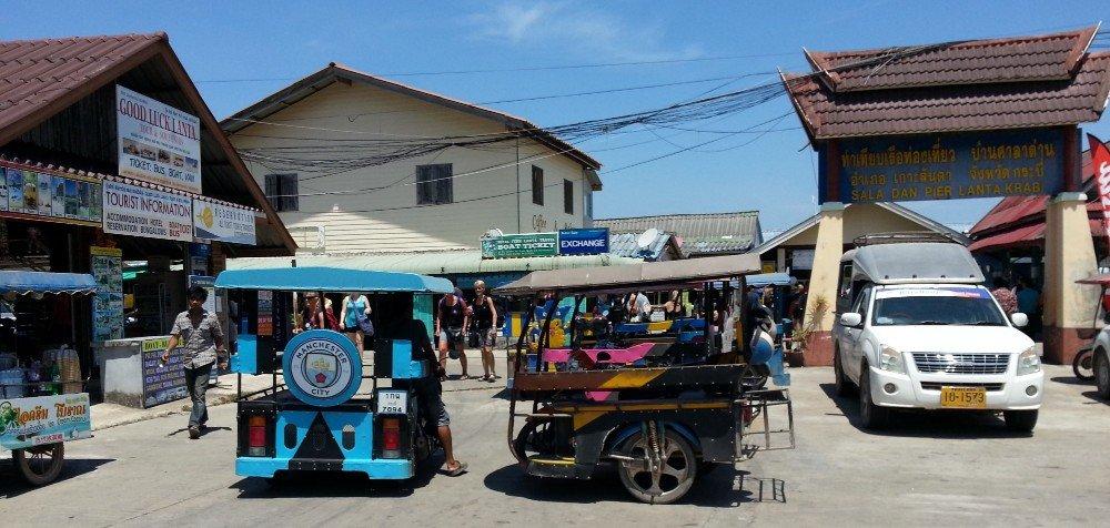 Local transport from Saladan Pier