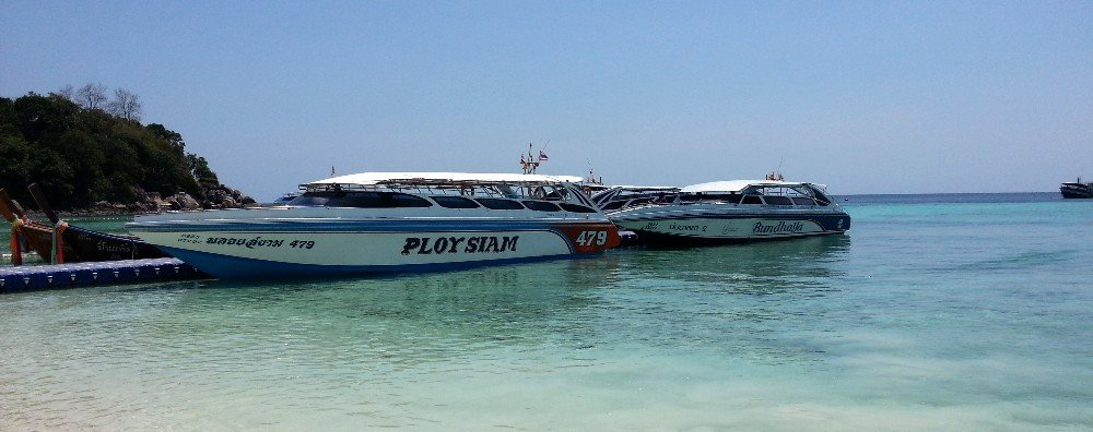 Speed boat services from Koh Lipe