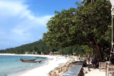 Chaloklum Beach in Koh Phangan