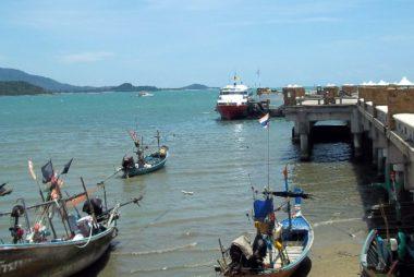 Bangrak Seatran Discovery Ferry Pier in Koh Samui