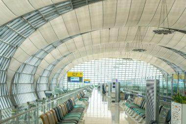 Suvarnabhumi Airport near Bangkok