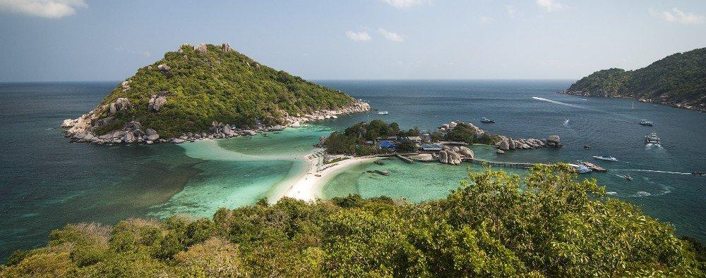 Nang Yuan Island near Koh Tao